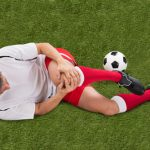 Knee injuries are common in soccer