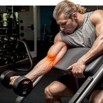 Biceps tendonitis will hurt in the front of the shoulder and may radiate down the upper arm