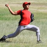 The forces on the shoulder while throwing can lead to injury