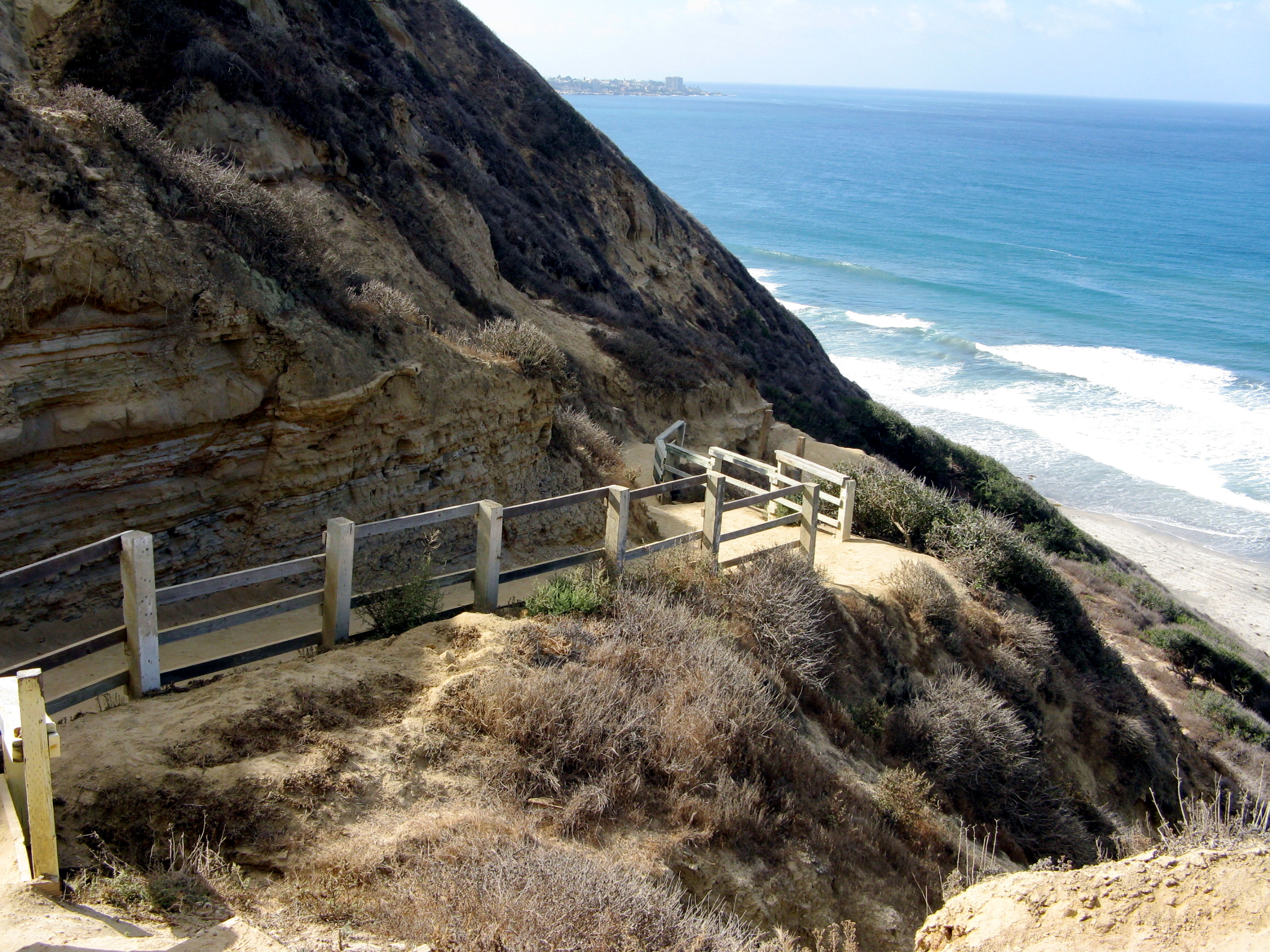 Stunning views of the Pacific Ocean will be seen on this San Diego Running Tour